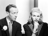 Fred Astaire and Ginger Rogers with a Doubting Face Photo by  Movie Star News