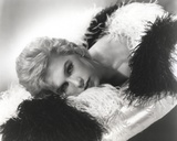 Stella Stevens Posed in Furry Dress Classic Portrait Photo by  Movie Star News
