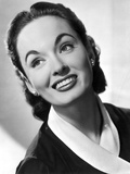 Ann Blyth Looking Up wearing an Earrings in a Portrait Photo by  Movie Star News