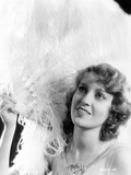 Jeanette MacDonald Posed in Dress With Feather Hat Photo by  Movie Star News
