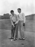 Dean Martin and Jerry Lewis standing Classic Portrait Photo by  Movie Star News