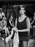 Barbra Streisand Photograph In Black Dress Holding A Towel Photo by  Movie Star News