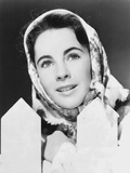 Elizabeth Taylor Looking Away in Classic with Shawl Photo by  Movie Star News