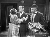 Al Jolson hugging the Maid in a Classic Movie Scene Photo by  Movie Star News