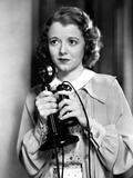 Janet Gaynor Holding A Vintage Radio Microphone Portrait Photo by  Movie Star News
