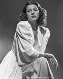 Rita Hayworth Young in White Dress with Bracelet Photo by A.L. Schafer