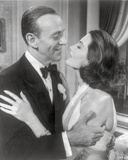 Silk Stockings Feeling Love in Black Suit and Dress Photo by  Movie Star News