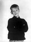 Macauley Culkin Posed in Black With White Background Photo by  Movie Star News