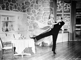 Fred Astaire and Ginger Rogers Dancing in Gown and Suit Photo by  Movie Star News