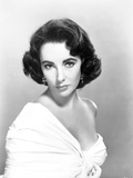 Elizabeth Taylor Serious Posed in Classic with Earrings Photo by  Movie Star News