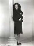 Dorothy Lamour standing in Black and White Portrait Photo by  Movie Star News