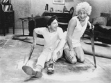 Marx Brothers sitting on the Floor wearing White Outfit Photo by  Movie Star News