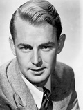 Alan Ladd Looking at the Camera Having a Fix Hair Style Photo by  Movie Star News