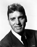 Burt Lancaster smiling in Suit and Tie Close Up Portrait Photo by  Movie Star News