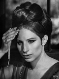 Barbra Streisand Close Up Portrait With Pearl Necklace Photo by  Movie Star News