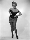 Marlene Dietrich standing Black Sexy Dress with Heels Photo by  Movie Star News