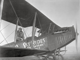 Spirit Of Saint Louis Charles A. Lindbergh in Plane Photo by  Movie Star News