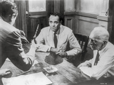 Twelve Angry Men Movie Scene with Three Men Talking Photo by  Movie Star News