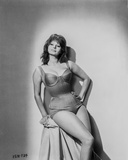 Sophia Loren wearing a Lingerie and sitting on a Chair Photo autor Movie Star News