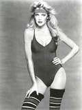 Heather Locklear wearing a Bikini with High Socks Photo by  Movie Star News