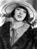 Colleen Moore on a Coat and a Hat and smiling Portrait Photo by  Movie Star News