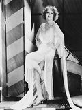 Clara Bow Posed in White Dress with Hands on Hips Photo by  Movie Star News
