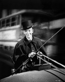 Fred Astaire Riding on Carriage in Black and White Photo by  Movie Star News