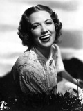 Eleanor Powell on an Embroidered Dress and laughing Photo af  Movie Star News