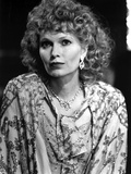 Mia Farrow Portrait wearing Floral Dress with Necklace Photo by  Movie Star News