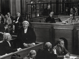 Witness For The Prosecution Cast Talking in Movie Scene Photo af Movie Star News