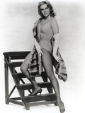 Ann Margret wearing a One Piece with a Scarf in Classic Photo by  Movie Star News