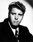 Burt Lancaster Posed in Suit with Printed Necktie Photo by  Movie Star News