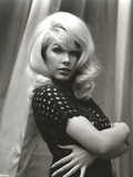 Stella Stevens Posed in Polka Dot Dress Classic Portrait Photo by  Movie Star News
