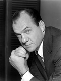 Karl Malden Posed in Black Suit With Black Background Photo by  Movie Star News