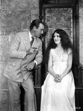 Mary Astor on Long Dress Talking to a Man Portrait Photo by  Movie Star News