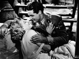 Jean Harlow Couple Shot Kissing Scene from a Film Photo by  Movie Star News