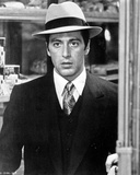 Al Pacino Looking Shocked in Formal Outfit Black and White Photo af  Movie Star News