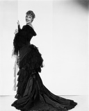 Jeanette MacDonald in Black Gown With White Background Photo by  Movie Star News