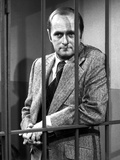 Bob Newhart Posed in Tuxedo With Black and White Photo by  Movie Star News