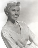 Doris Day Portrait in Classic with Stripes Dress Photo by  Movie Star News