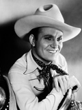 Gene Autry smiling in Cowboy Hat and Cowboy Outfit Photo by  Movie Star News