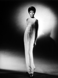 Diahann Carroll Portrait wearing White Net Dress Photo by  Movie Star News