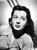 Gail Russell Posed in Dress with White Background Photo by  Movie Star News