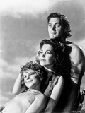 Johnny Weissmuller Leaning with Each Other in a Portrait Photo by  Movie Star News