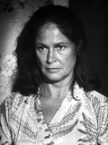 Colleen Dewhurst Looking Away in Floral Dress Portrait Photo by  Movie Star News