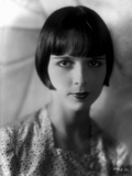 Louise Brooks Posed in polka dot T-Shirt Portrait Photo by  Movie Star News