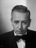 George Raft wearing Tuxedo with Tie Black and White Photo by E Bachrach