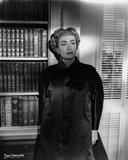 Joan Crawford wearing a Black Chinese Dress in Classic Photo by  Movie Star News