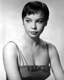 Leslie Caron Portrait with White Background in Class Photo by  Movie Star News