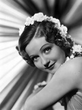 Nancy Carroll Portrait in Classic with Flower Headband Photo by  Movie Star News
